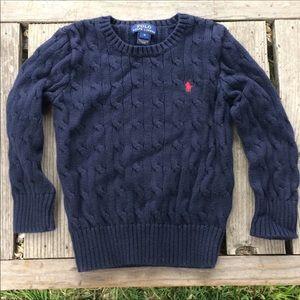 Polo Ralph Lauren Cable Knit Cotton Sweater 4T